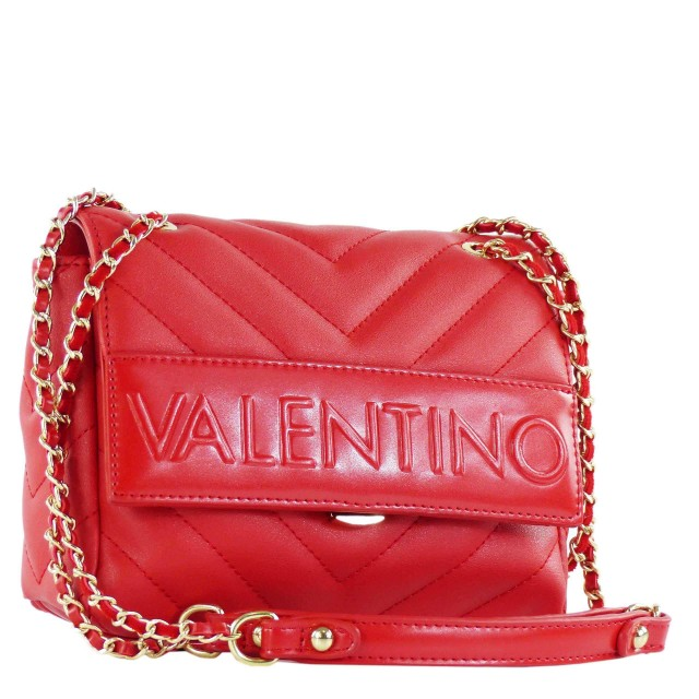 VALENTINO BAGS Chocolat Schultertasche Rot