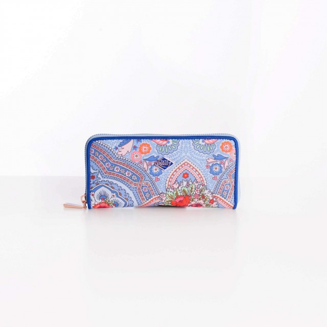 Oilily Simply Ovation M Zip Wallet Sky Blue