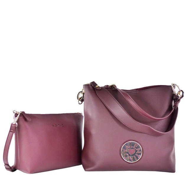 VALENTINO BAGS Olympia Sacca Shopper Bordeaux