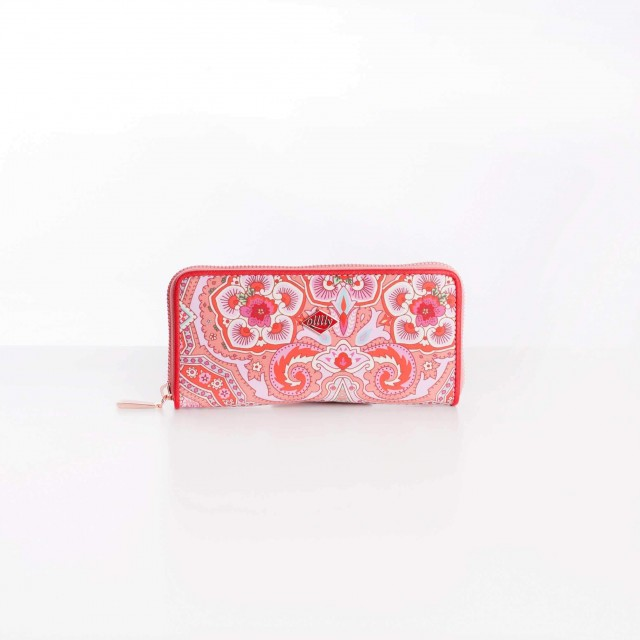 Oilily Simply Ovation M Zip Wallet Old Rose