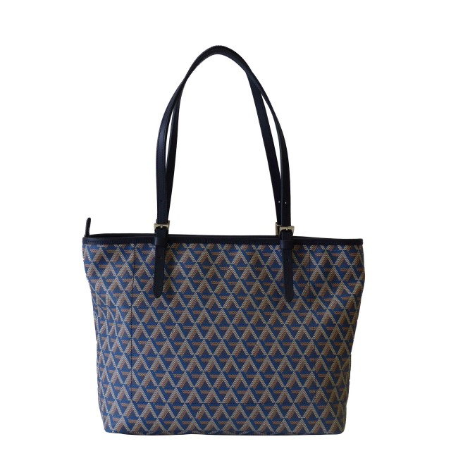Lancaster Ikon Tote Bag Shopper Bleu