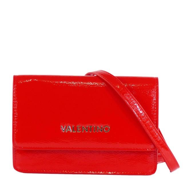 Valentino by Mario Valentino Ghost Schultertasche Blau Fiction Schultertasche / Clutch Rot