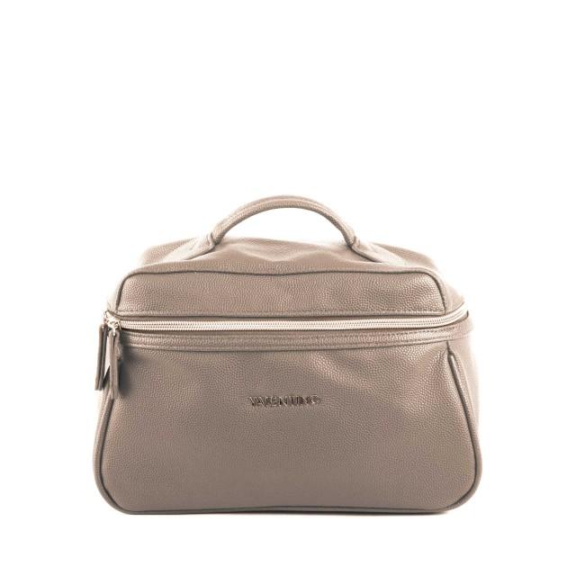 VALENTINO BAGS Globe VBE2UL601 Beauty Case Kosmetiktasche Taupe