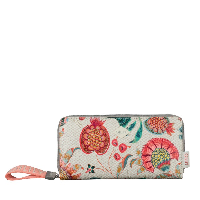 Oilily Jolly Sunflower Purse LH15Z Geldbörse Weiß