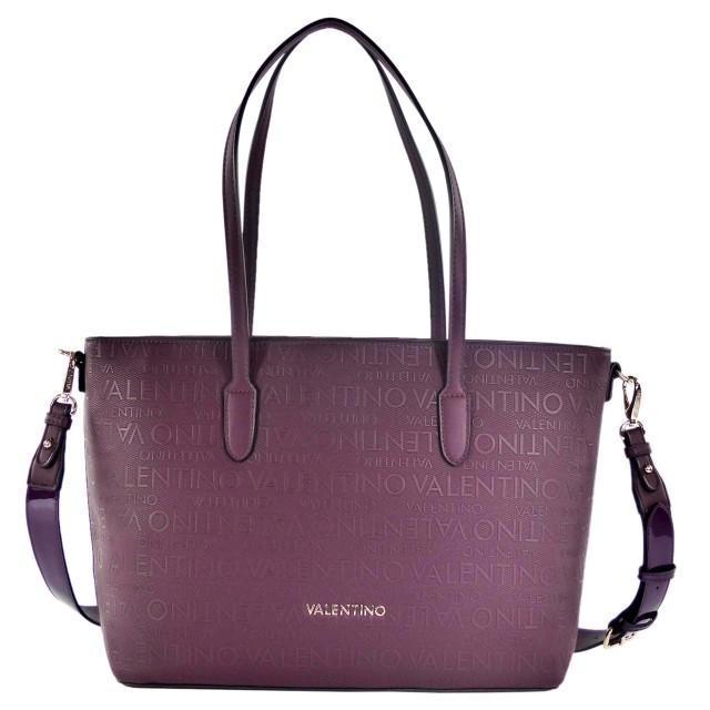 VALENTINO BAGS Winter Dory Shopper Prugna