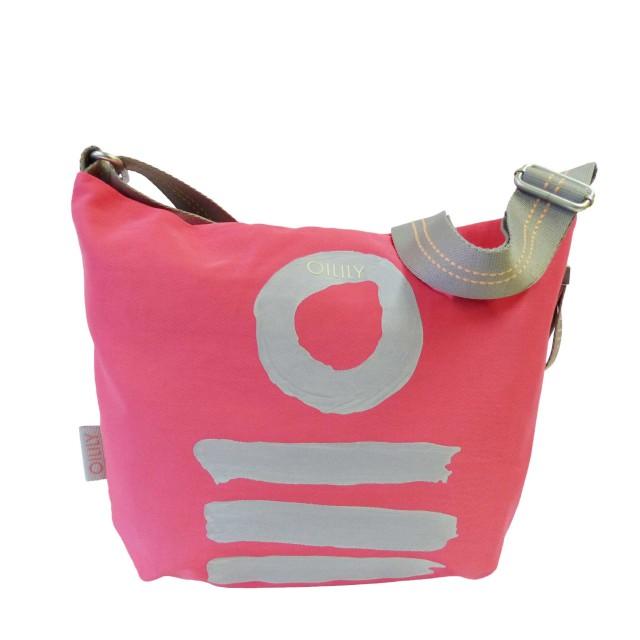 Oilily Fun Nylon Shoulderbag Mvz Schultertasche Pink