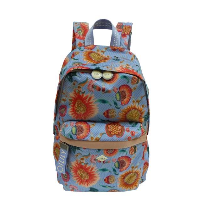 Oilily Groovy Sunflower Backpack Lvz Rucksackhandtasche Blau