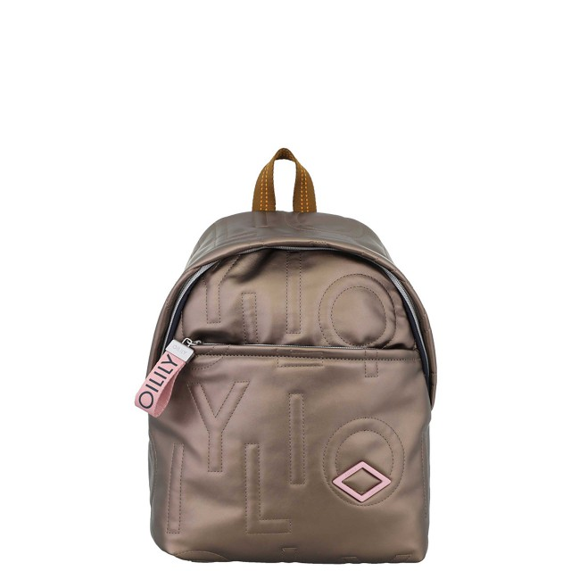 Oilily Gladdy Backpack Mvz Rucksack Bronze