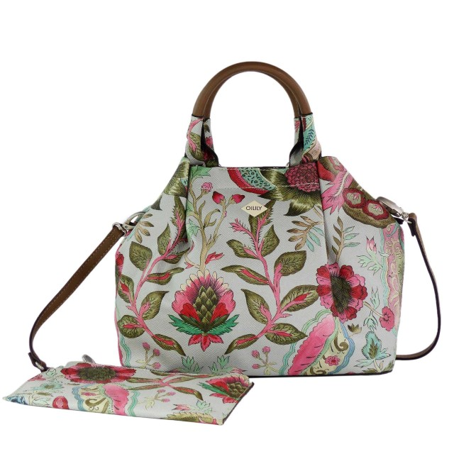 Oilily Orient Handbag SVF Light Grey