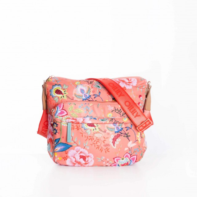 Oilily Color Bomb M Shoulder Bag OIL0107-116 Camelia