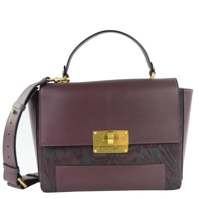 Valentino Boston Damen Handtasche Bordeaux VLBP2UB