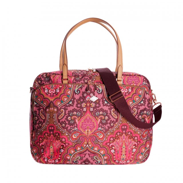 Oilily Paisley Office Bag Cherry