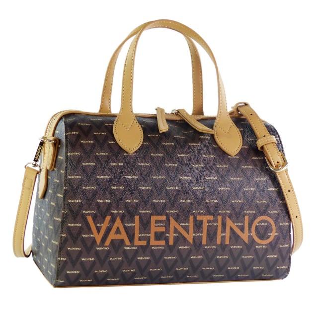 VALENTINO BAGS Liuto Bowling Bag Cuoio/Multicolor
