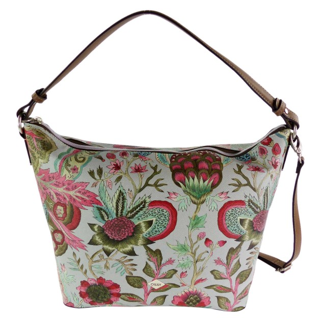 Oilily Orient Hobo Bag LHZ Light Grey