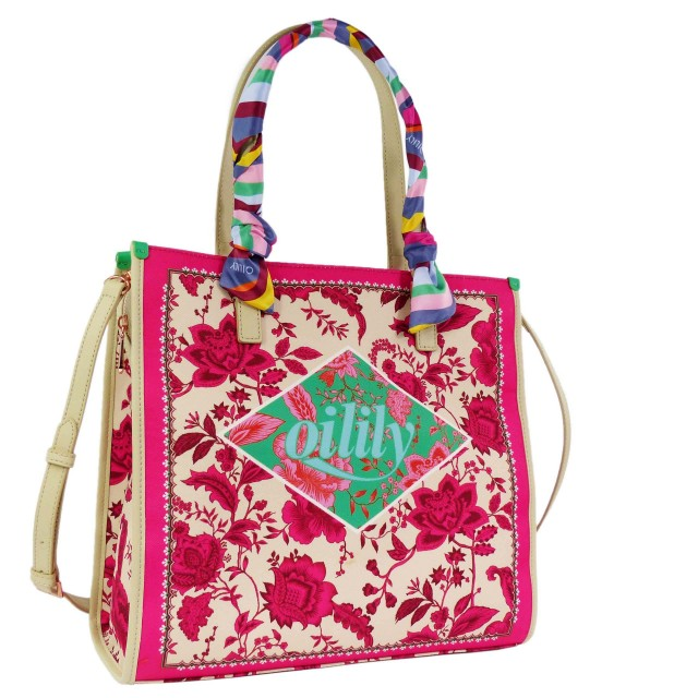 Oilily Signature Shopper OIL0127-307 Pink Glo