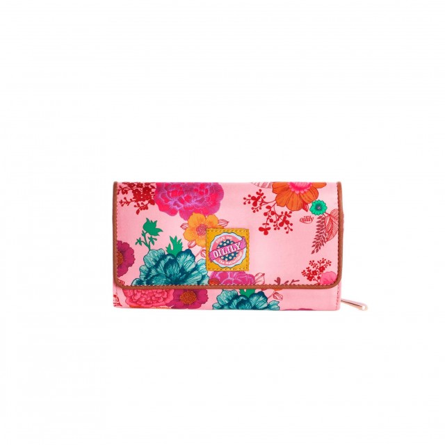 Oilily Colour Splash L Wallet Camellia Rose
