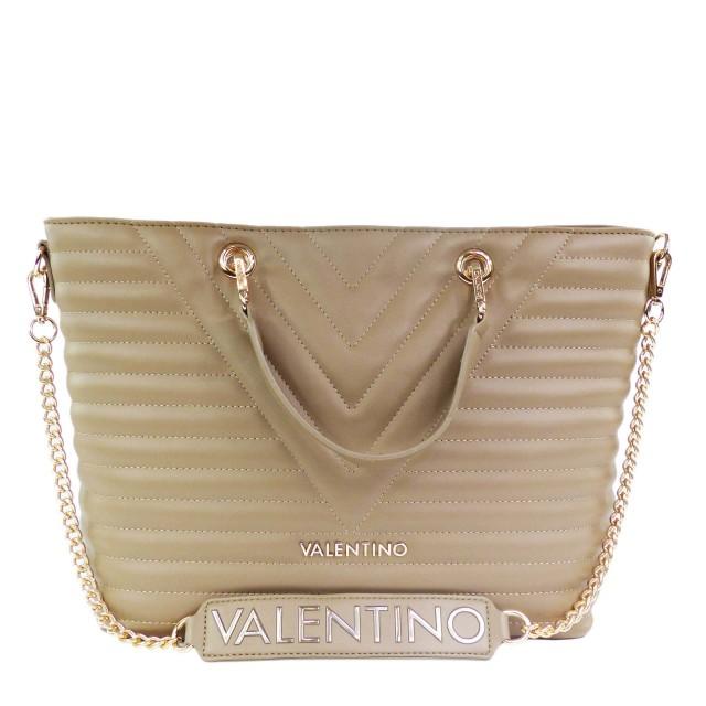 VALENTINO BAGS Cajon Handtasche / Shopper Taupe