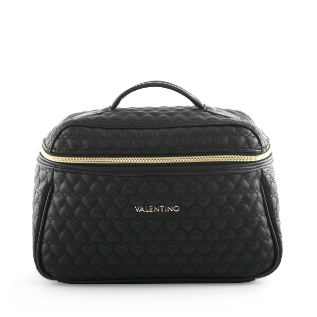 VALENTINO BAGS Golden Beauty Case Nero