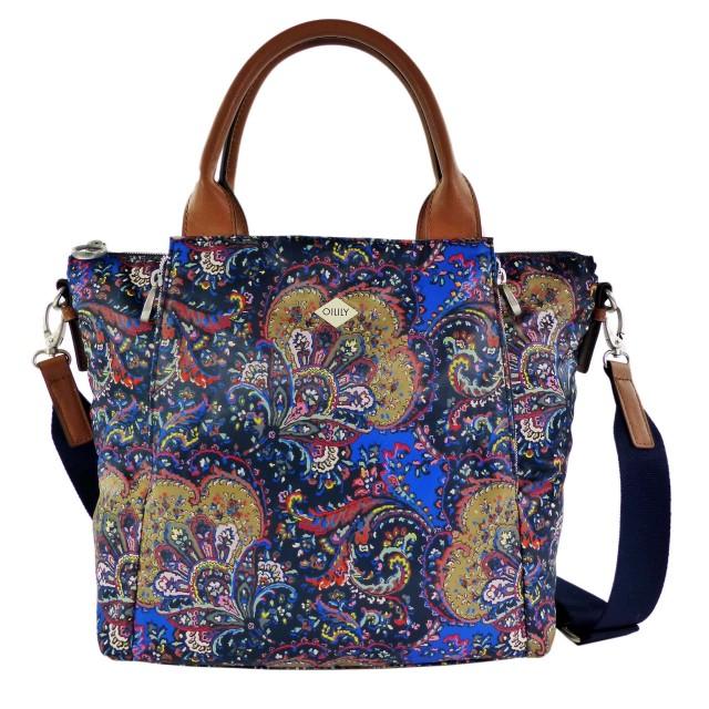 Oilily Picnic Handbag MHZ 1 Night Blue