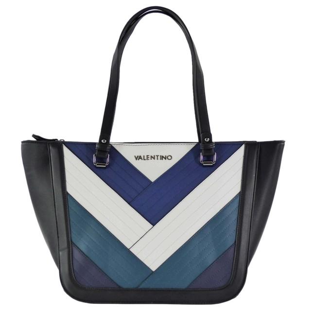 VALENTINO BAGS Walle VBS2SD02 Shopper Blau Mehrfarbig