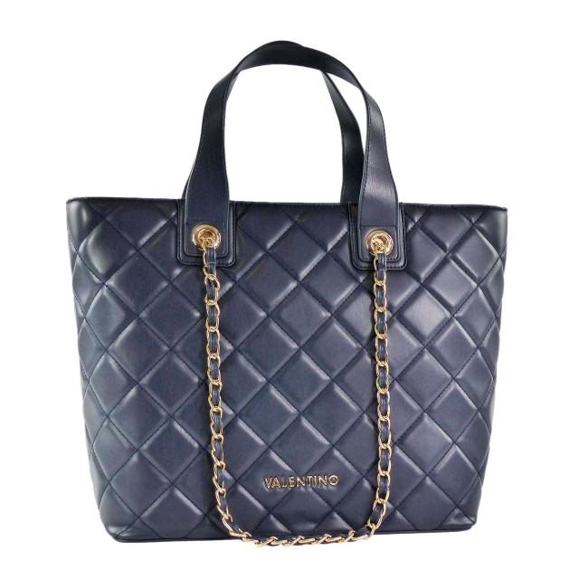 VALENTINO BAGS Ocarina Shopper Blau