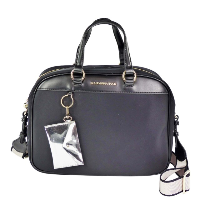 Mandarina Duck Bijou Bowling Bag MKT03 Black