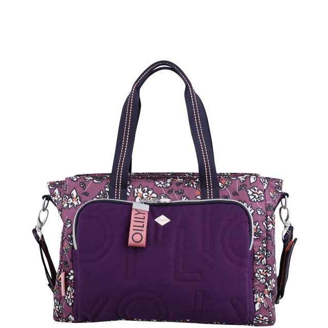 Oilily Charm Diaperbag Mhz Wickeltasche Mauve