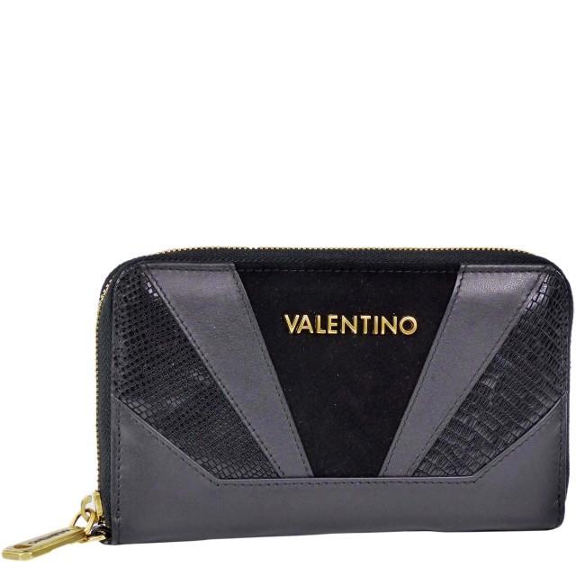 VALENTINO BAGS Detroit Nero Geldbörse Schwarz VLPP2EO166