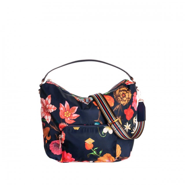 Oilily Winter Bouquet City Hobo Navy Night