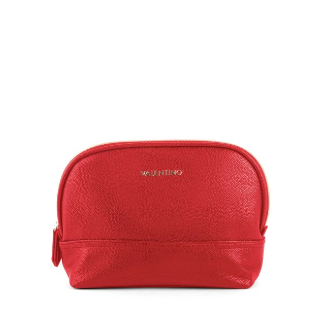 Valentino by Mario Valentino Globe M Toiletry Bag Rosso