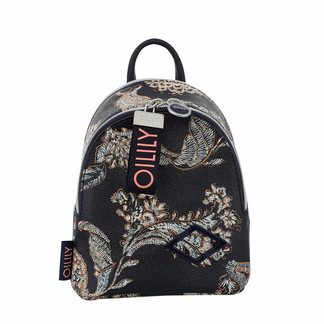 Oilily Jolly Backpack Svz Rucksack Dunkelblau