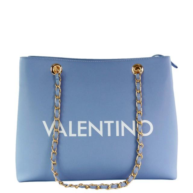 VALENTINO BAGS Masha Shopper Hellblau Weiß