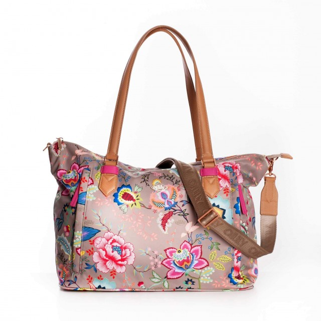 Oilily Color Bomb M Carry All OIL0104-852 Dune