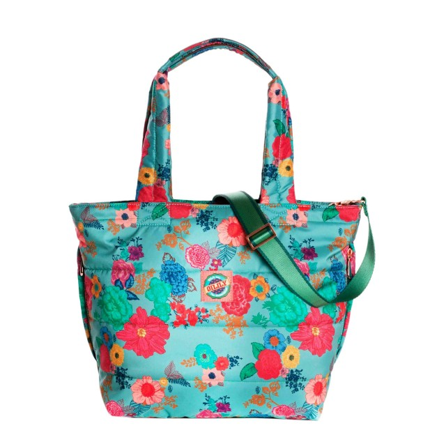 Oilily Colour Splash Muff Shopper Sea Breeze
