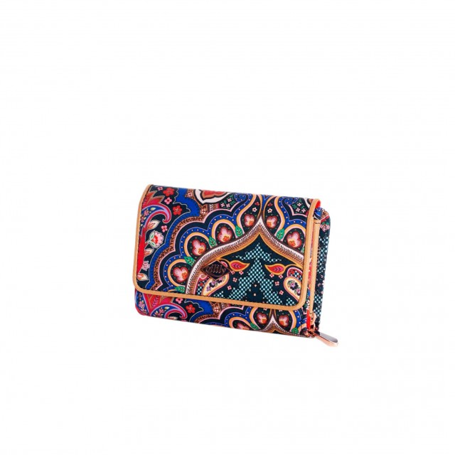 Oilily Paisley S Wallet Royal Blue