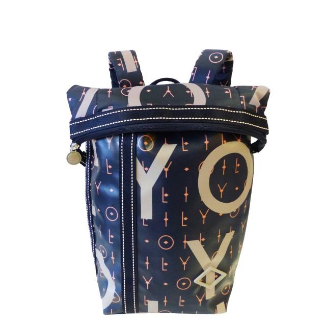Oilily Lori Letters Backpack Mvf Rucksackhandtasche Blau