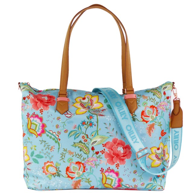 Oilily Color Bomb Carry All OIL0148-562 Turquoise