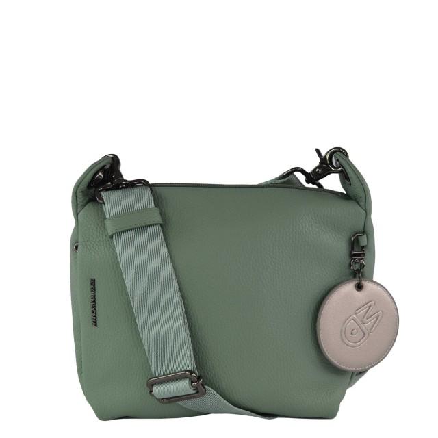 Mandarina Duck Mellow Leather Umhängetasche Green Bay FZT5222K