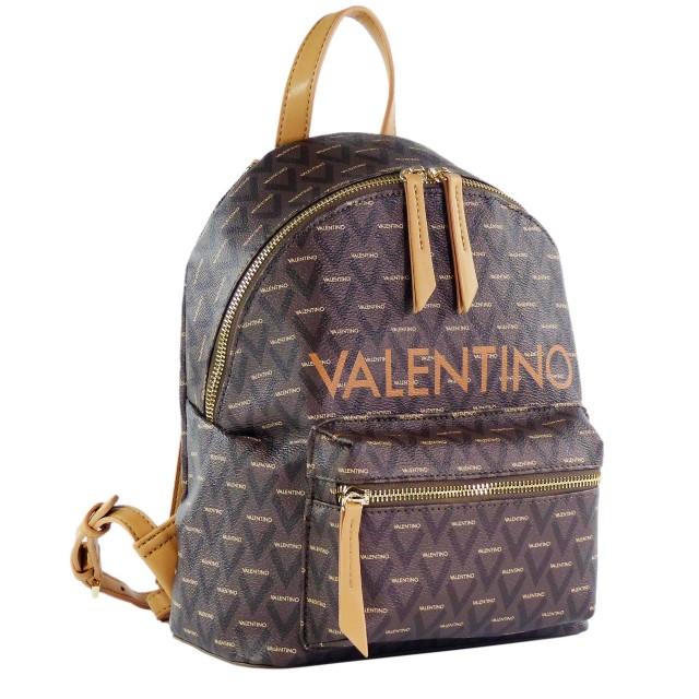 VALENTINO BAGS Damen Liuto Rucksack VBS3KG16 Cuoio/Multicolor