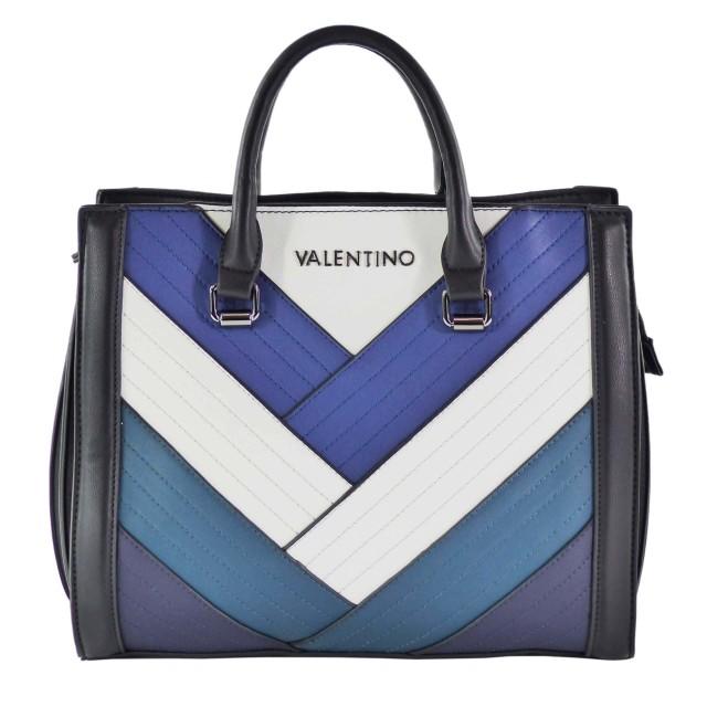 VALENTINO BAGS Walle VBS2SD03 Queen Handbag Blau Mehrfarbig