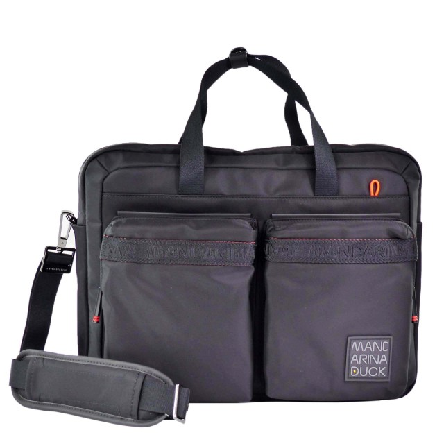 Mandarina Duck Warrior Briefcase CXC01 Black