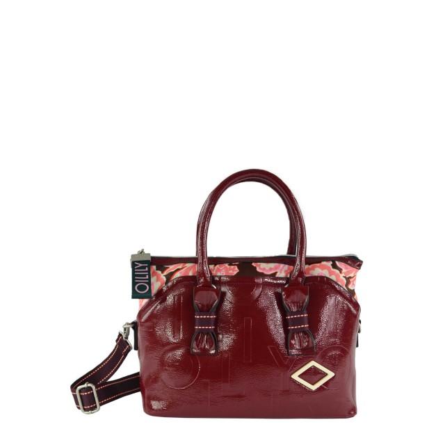 Oilily Brightly Handbag Mhz Handtasche Burgundrot
