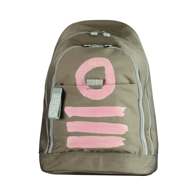 Oilily Fun Nylon Backpack Lvz Rucksackhandtasche Taupe