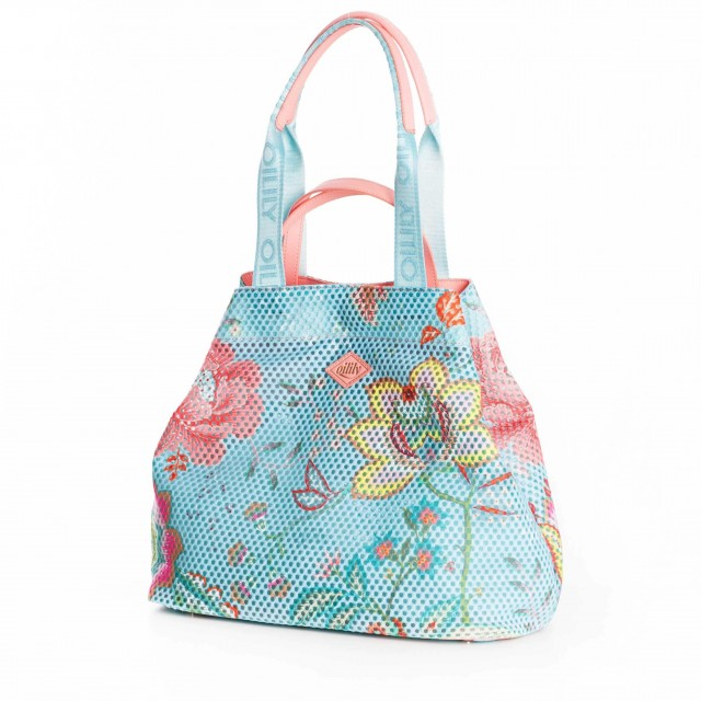 Oilily Color Bomb Shopper OIL0119-562 Turquoise
