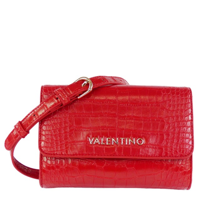 VALENTINO BAGS Grote Belt Bag / Umhängetasche Rot