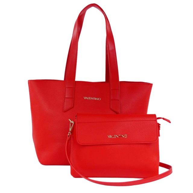 VALENTINO BAGS Potsdamer Shopper Rot