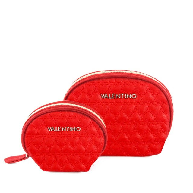 Valentino by Mario Valentino Golden VBE2UXBXK1 Cosmetic Package Kosmetiktasche Rosso