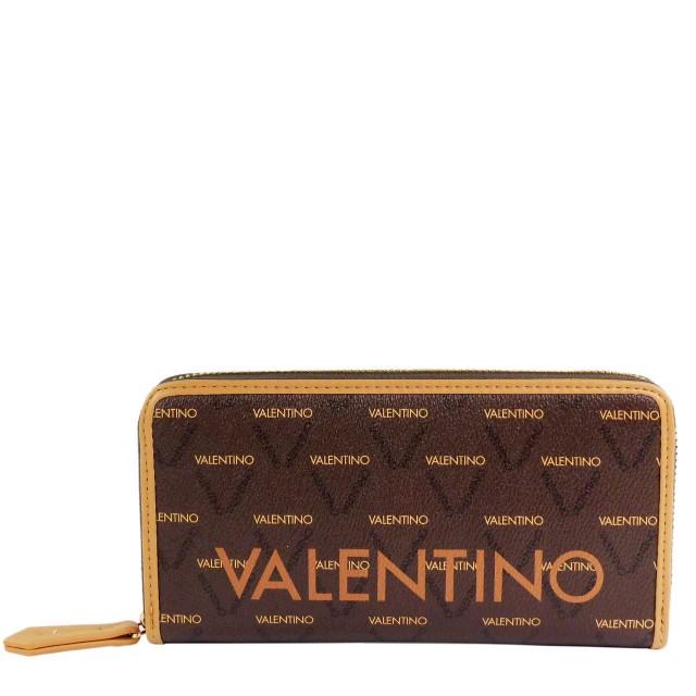 VALENTINO BAGS Damen Liuto Geldbörse VPS3KG155 Braun