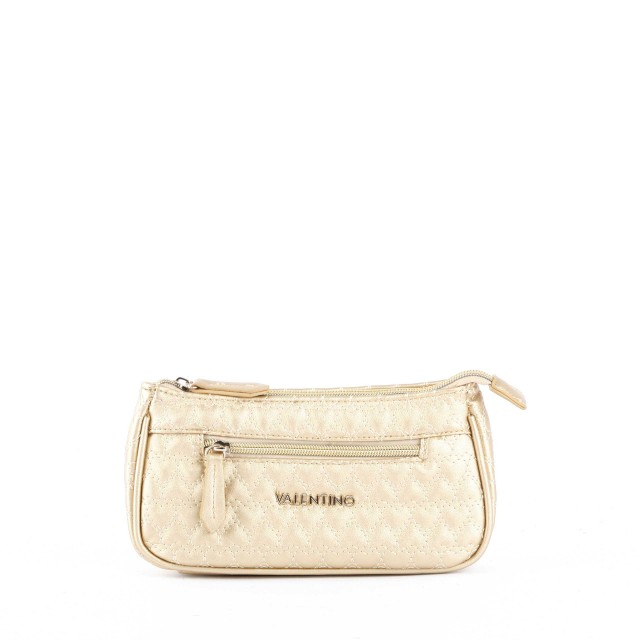 Valentino by Mario Valentino Golden Basic Cosmetic Bag Oro
