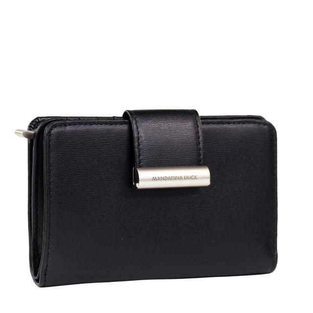 Mandarina Duck Hera.3 Medium Bifold Wallet RAP15 Black